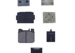 brake pad for textile machine